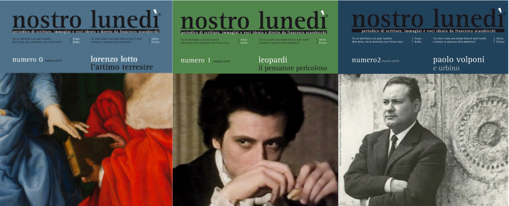 nostro lunedì - nuova serie 2011-2013