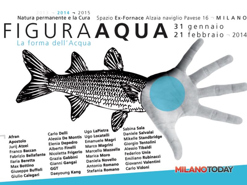 """""""figura aqua - la forma dell'acqua"""" mostra collettiva di arte contemporanea-2"""