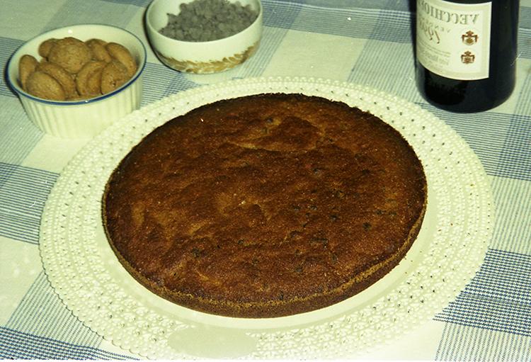 La torta con gli amaretti di zia Rosalba