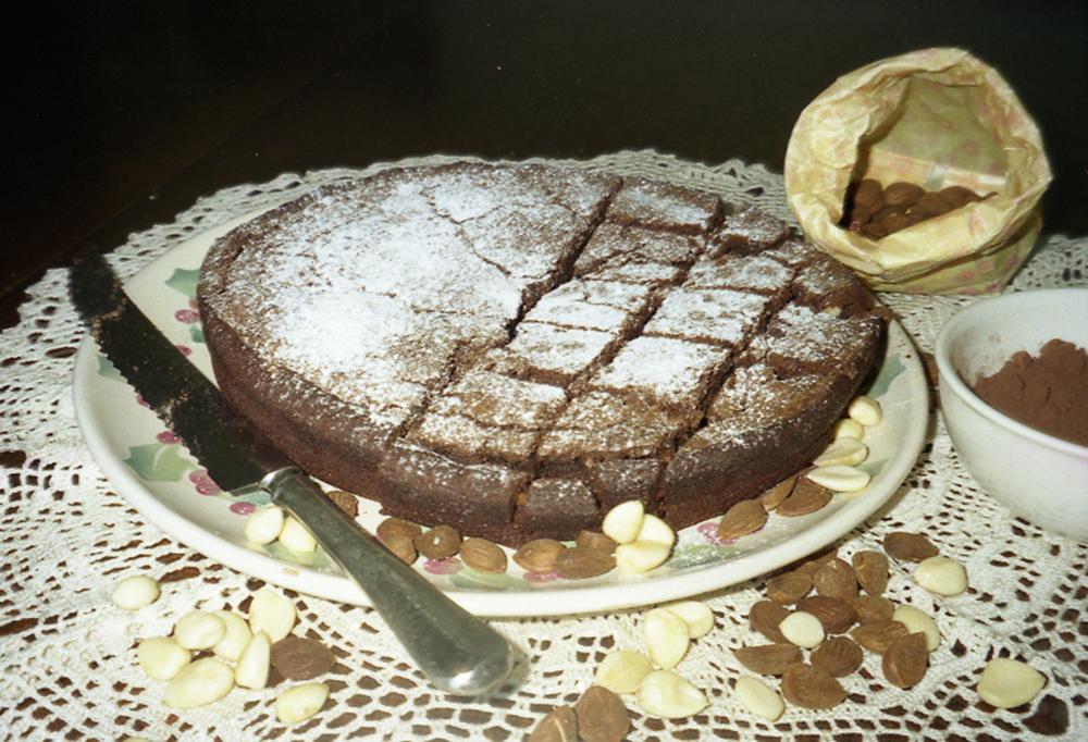 torta caprese di zia concetta