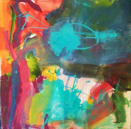 acrylique s toile 100x100 2013 bis
