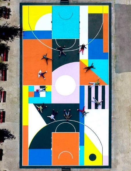 campo da basekt street art