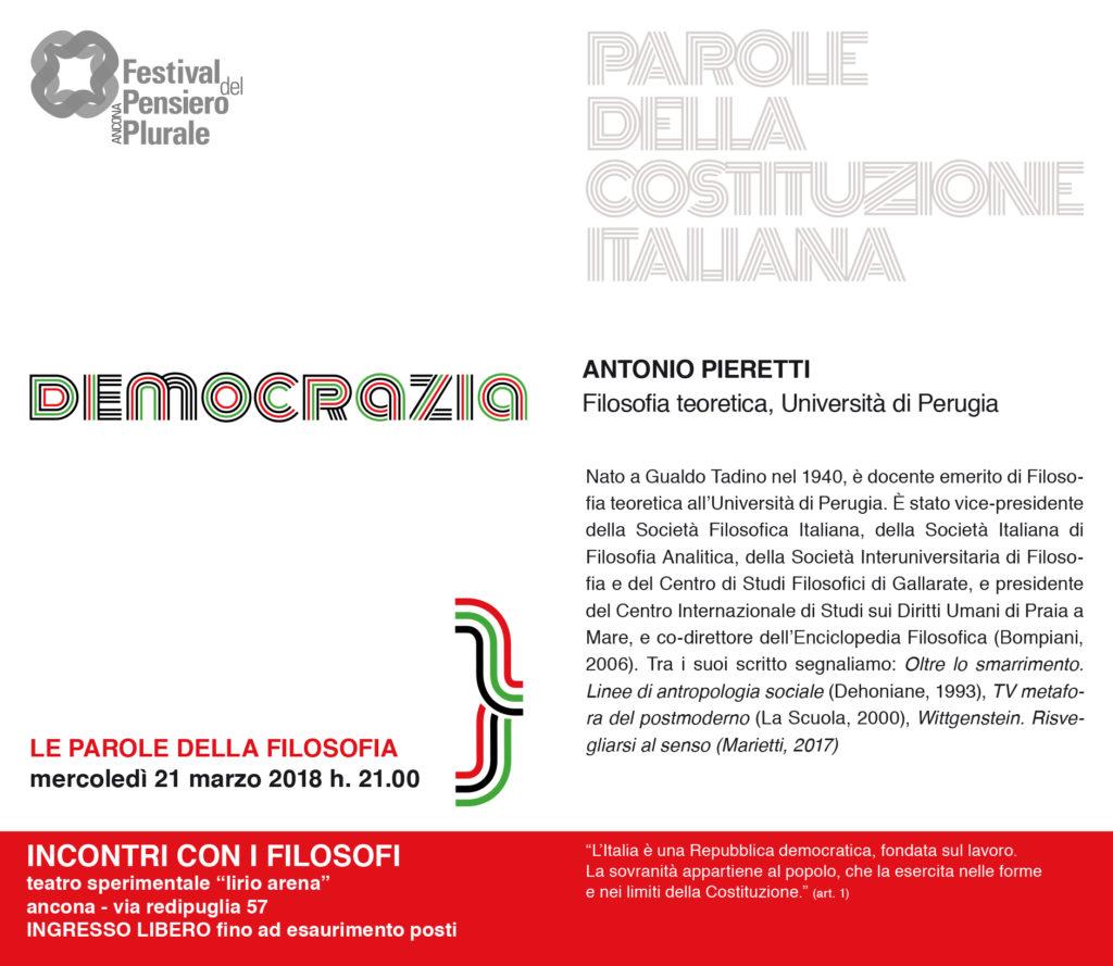 Democrazia - Antonio Pieretti